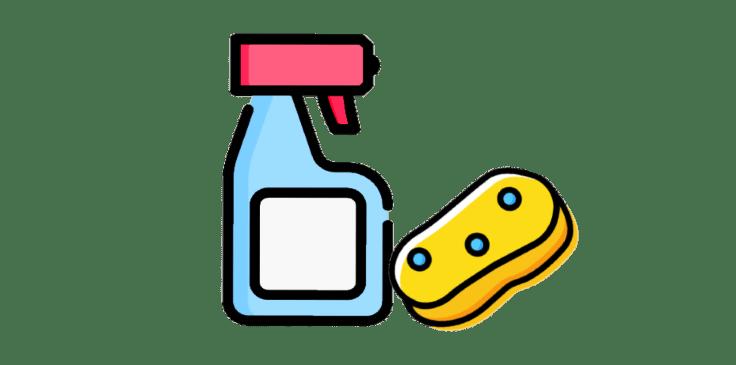 pulverizador-producto-limpieza-y-esponja-vector